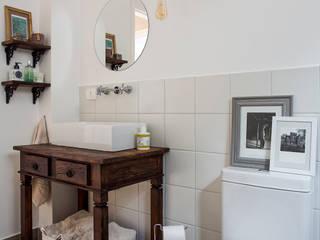 Palladino Arquitetura Scandinavian style bathroom