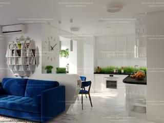Квартира на Волгоградском проспекте Кухня в скандинавском стиле от LEMstudio Скандинавский
