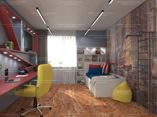 Квартира на Волгоградском проспекте Детская комнатa в скандинавском стиле от LEMstudio Скандинавский