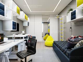 Квартира на Карамышевской набережной Детская комнатa в стиле минимализм от LEMstudio Минимализм