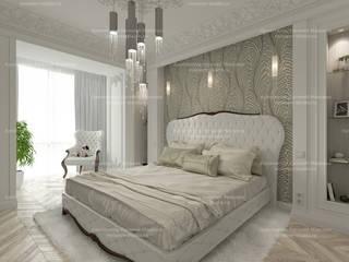 Двухуровневая вартира в Тамбове Спальня в классическом стиле от LEMstudio Классический