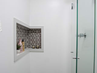 Studio Aclimação Banheiros modernos por Palladino Arquitetura Moderno