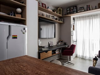 Studio Aclimação Salas multimídia modernas por Palladino Arquitetura Moderno
