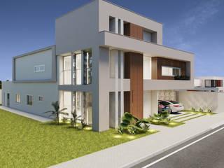 Residencia SS por Marcelle de Castro - arquitetura|interiores Moderno