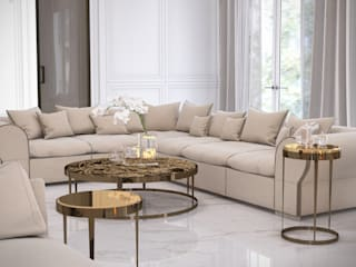 Дом на Кипре 425 м2 в стиле современная классика. от Fresca design