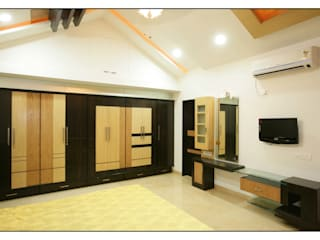 Spacemekk Designers p.LTD Small bedroom Wood Wood effect