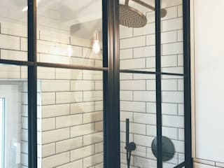 Shower Screen от Urban Steel Designs Лофт
