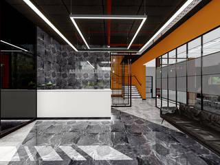 Aslan Makina - Kahramankazan Fabrika Binası Virtual Stüdyo Mimarlık Yazılım İnşaat Sanayi ve Ticaret LTD ŞTİ Modern