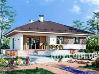 Проект одноэтажного дома TMV 83 от TMV Architecture company