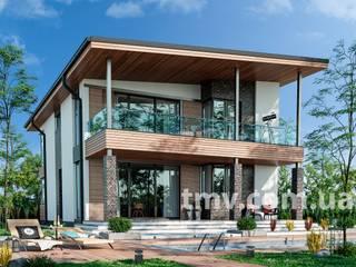 Проект дома в скандинавском стиле TMV 76 от TMV Architecture company