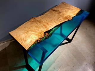 Baum Luxury – Baum Blue Epoksi Masa: modern tarz , Modern