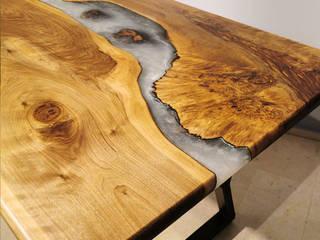 Baum Luxury – Baum Nacre Epoksi Masa: modern tarz , Modern