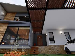 Residencia GR Arq. Rodrigo Culebro Sánchez Casas eclécticas