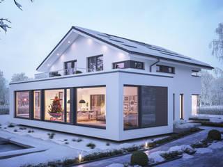 Musterhaus Günzburg von Bien-Zenker erhält Nachhaltigkeitszertifikat Bien-Zenker Villa Weiß