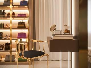 Vestidores y placares de estilo moderno de Camila Pimenta | Arquitetura + Interiores Moderno
