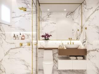 Moderne Badezimmer von Camila Pimenta | Arquitetura + Interiores Modern