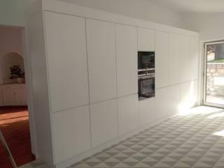 Edefer KitchenCabinets & shelves Kayu Lapis White