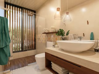 by Obed Clemente Arquitectos Tropical