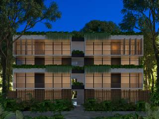 CONDOS JAABIN de Obed Clemente Arquitecto Tropical