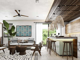 by Obed Clemente Arquitecto Tropical