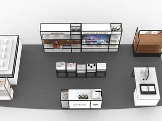 Spa minimalista por EA ARCHITECTURE & FURNITURE Minimalista