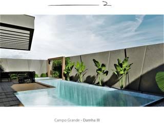 D arquitetura 家庭用プール