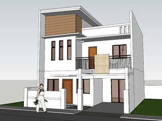 Proposed 2 storey Residential Building with deck by j.g taño builders