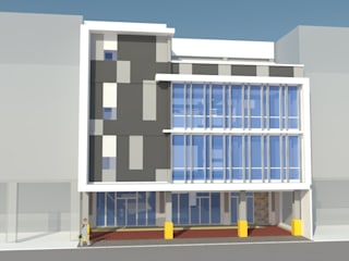 Proposed 4 storey Commercial and Office with Deck Building by j.g taño builders