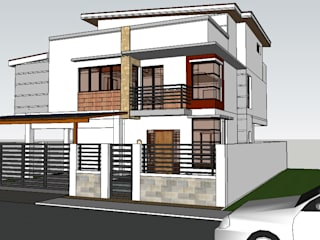 Proposed 2 storey Residential Building by j.g taño builders