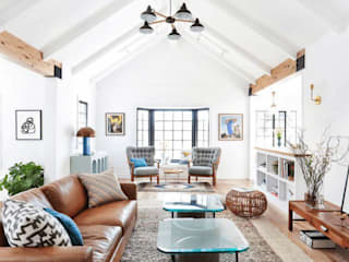 AN PHÚ DESIGN & BUILD Living roomAccessories & decoration Concrete Blue