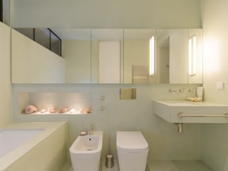 Fresh Mint Aura Modern bathroom by Vivante Modern