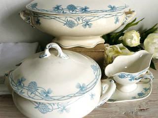 Maisondora Vintage Living CuisineCouverts, vaisselle et verrerie Céramique Blanc