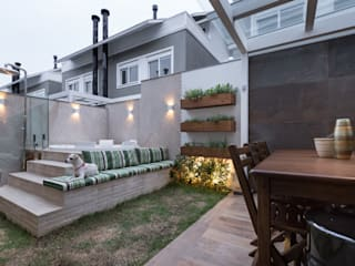 Casa Terrara Spa moderno por Bibiana Menegaz - Arquitetura de Atmosfera Moderno