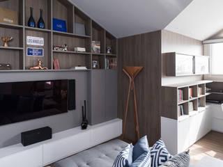 Casa Terrara Escritórios modernos por Bibiana Menegaz - Arquitetura de Atmosfera Moderno
