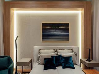 Suite Conceito Sheraton - Casa Cor RS 2019 Quartos modernos por Bibiana Menegaz - Arquitetura de Atmosfera Moderno