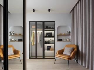 Modern Dressing Room by 澄月室內設計 Modern