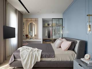 Modern Bedroom by 澄月室內設計 Modern