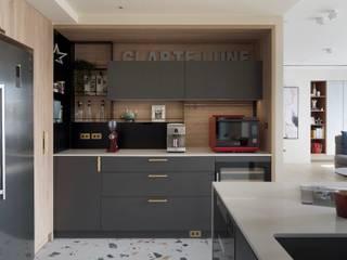 森活 現代廚房設計點子、靈感&圖片 根據 澄月室內設計 現代風