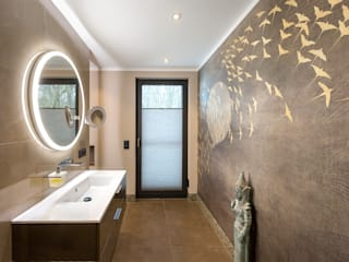 CONSCIOUS DESIGN - INTERIORS Asian style bathroom