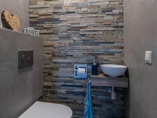 Betonlook badkamer voor een stoere look van Maxaro Industrieel