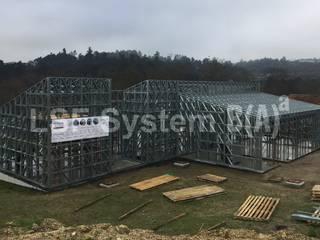 LSF System B(A)ª | AO6015 por URBIMAGEM - Sistemas de Arquitectura e Construção, Lda Minimalista