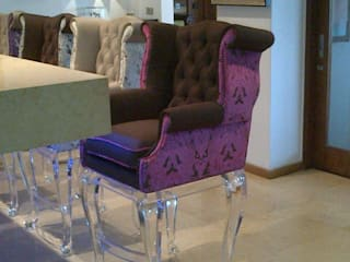Osk Queen Anne Chesterfield bar stools BI-Dsign Living roomStools & chairs