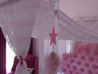 Osk Princess Bed BI-Dsign BedroomBeds & headboards Pink
