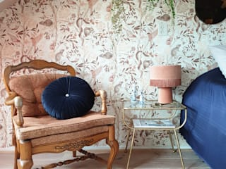 Wallpaper Inspiration for the Bedroom por Mineheart Eclético