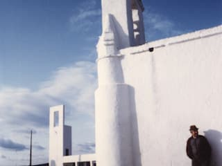 Capela Mortuária de Marmelar Escritórios mediterrânicos por Jorge Cruz Pinto + Cristina Mantas, Arquitectos Mediterrânico