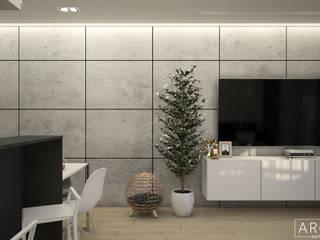 Modern Living Room by ArchiVR Modern