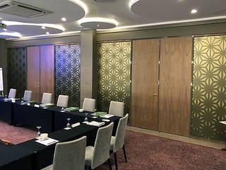 AVANI HOTEL & CASINO – WINDHOEK, NAMIBIA Aluglass Bautech (Pty) Limited Hotels Glass Amber/Gold