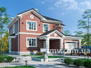 Проект дома в английском стиле TMV 73 от TMV Architecture company