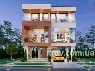 Проект дома в стиле хай-тек TMV 79 от TMV Architecture company