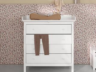 Emil & Paula Kids Nursery/kid's roomWardrobes & closets Wood White